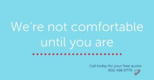 heat pumps -We're not comfortable until you are - Twenty Degrees LTD - call today for a free quote 1-902-456-5779