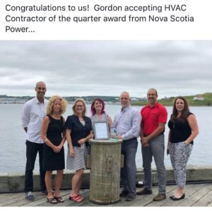 Nova Scotia Power award -